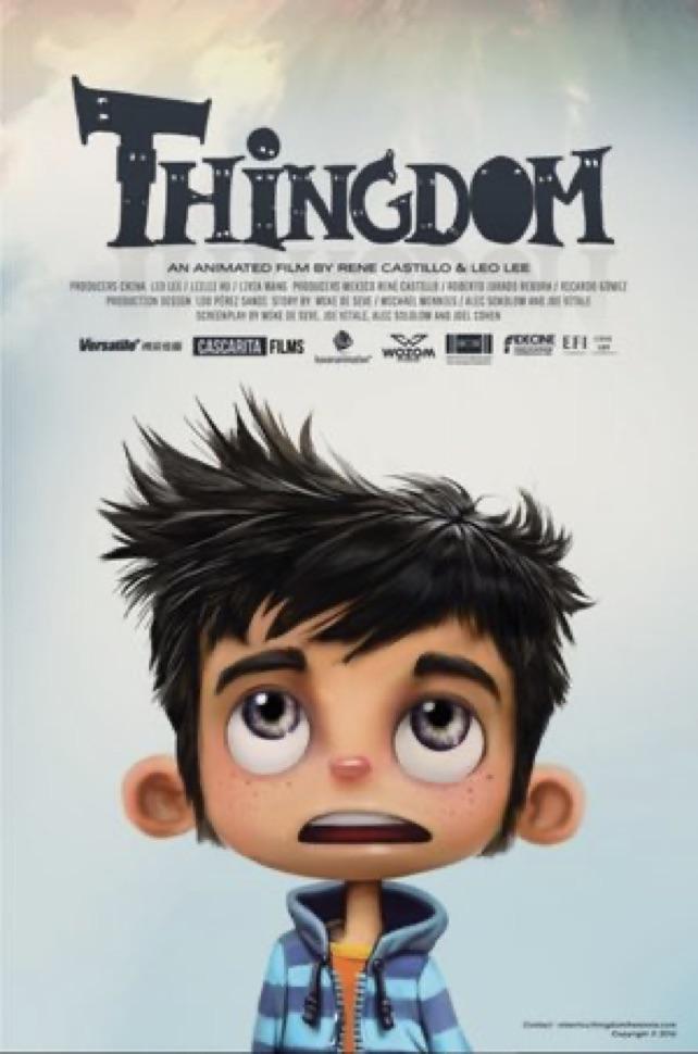 Thingdom Poster - Written by René Castillo and Pietro Schito